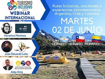 Rutas Inclusivas, una mirada a experiencias latinoamericanas: Argentina, Chile y Colombia